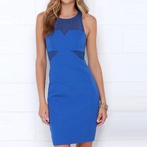 FINDERS KEEPERS nothing to lose blue dress • new